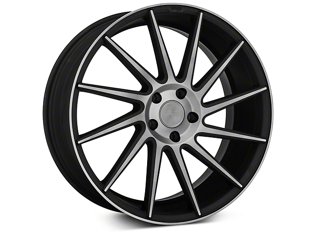 Niche Surge Double Dark Directional Wheel - Passenger Side - 20x8.5 (15-17 All)