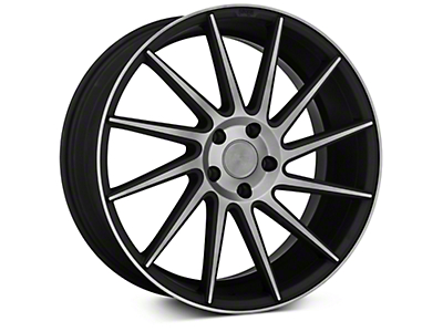 Niche Surge Double Dark Directional Wheel - Passenger Side - 20x8.5 (15-18 GT, EcoBoost, V6)