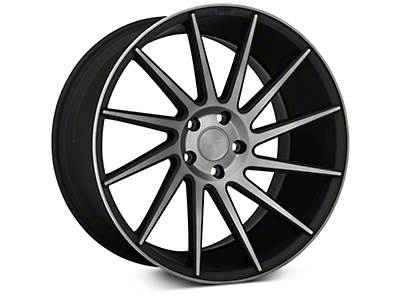 Niche Surge Double Dark Directional Wheel - Passenger Side - 20x10 (15-17 All)