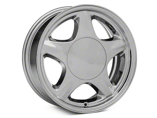 Pony Style Chrome Wheel - 16x7 (87-93 All, Excluding 1993 Cobra)