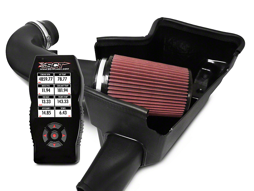 JLT Cold Air Intake & Bama X4 Tuner (15-17 GT)