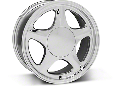 Pony Style Chrome Wheel - 17x8 (87-93 All, Excluding 1993 Cobra)