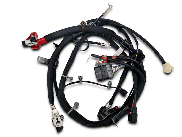 Ford Battery Cable Harness - Automatic (15-17 GT)
