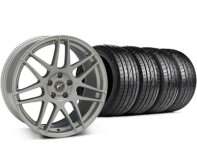 Forgestar F14 Monoblock Silver Wheel & Sumitomo Tire Kit - 19x9.5 (15-17 All)
