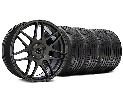 Forgestar F14 Monoblock Gunmetal Wheel & Sumitomo HTR-Z III Tire Kit - 20x9.5 (15-18 All)