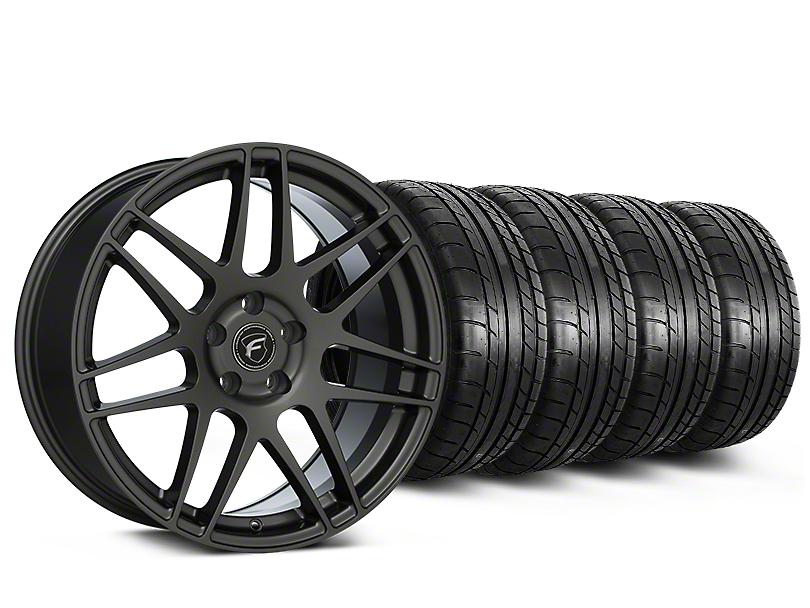 Forgestar F14 Monoblock Gunmetal Wheel & Mickey Thompson Tire Kit - 20x9.5 (15-18 All)