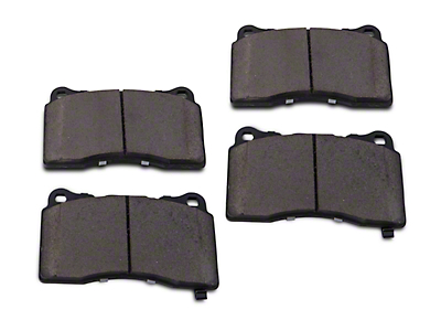 Power Stop Z26 Extreme Performance Ceramic Brake Pads - Front Pair (11-14 GT Brembo; 12-13 BOSS 302; 07-12 GT500)