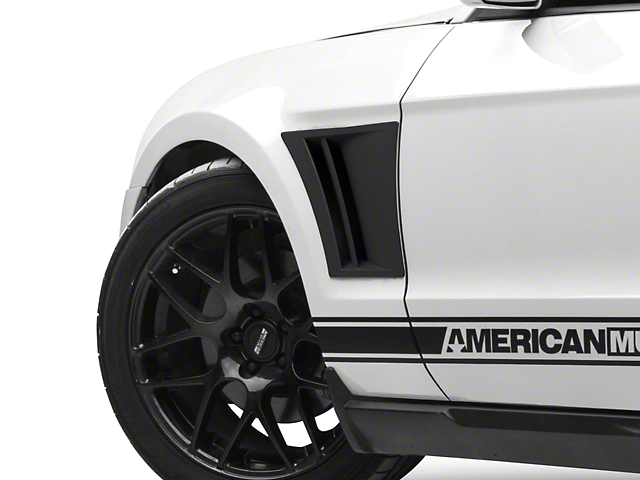 MMD Fender Vents; Matte Black (10-14 All)