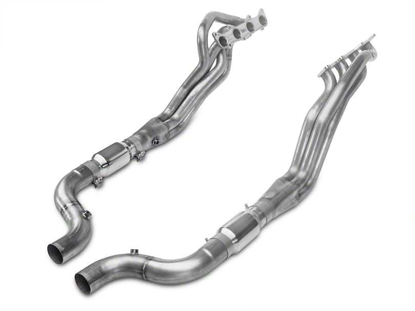 Stainless Works 1-7/8 in. Long Tube Catted Headers (15-17 GT w/ SW Cat-Back)
