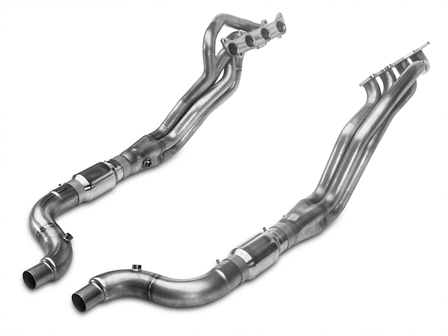Stainless Works 1-7/8 in. Long Tube Catted Headers (15-17 GT)