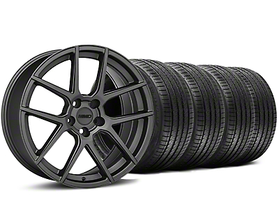 MMD Zeven Charcoal Wheel & Sumitomo Tire Kit - 20x8.5 (15-18 All)