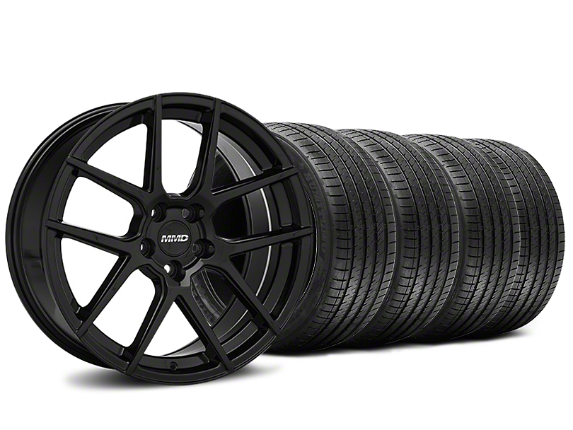 MMD Zeven Black Wheel & Sumitomo Tire Kit - 20x8.5 (15-18 All)
