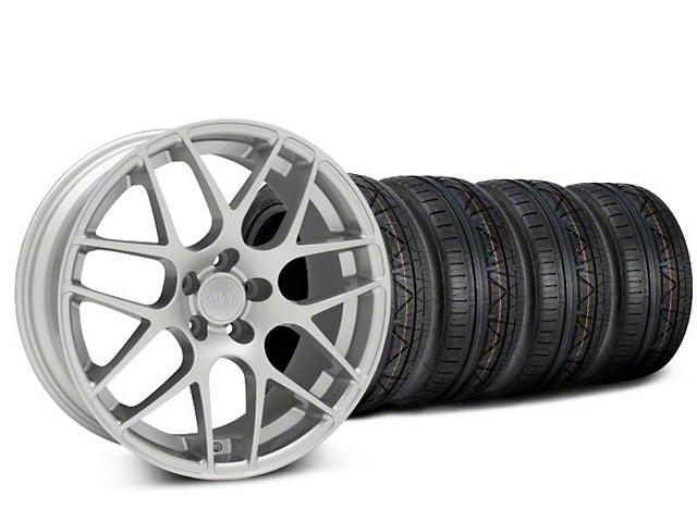 AMR Silver Wheel & NITTO INVO Tire Kit - 20x8.5 (15-18 GT, EcoBoost, V6)