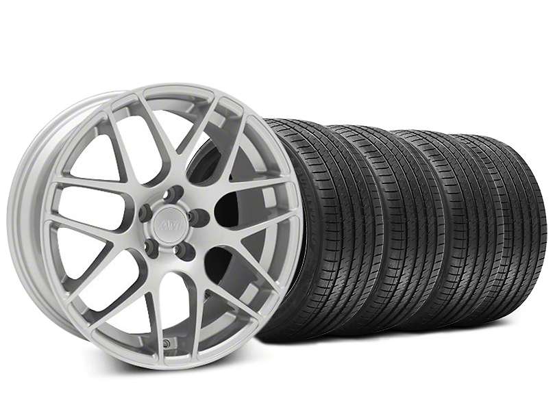 AMR Silver Wheel & Sumitomo Tire Kit - 20x8.5 (15-19 GT, EcoBoost, V6)