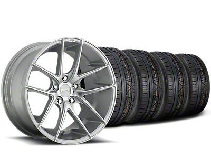Niche Targa Matte Silver Wheel & NITTO INVO Tire Kit - 20x8.5 (15-19 All)
