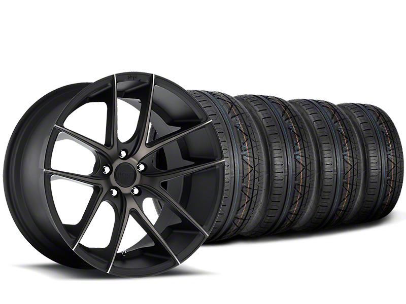 Niche Targa Black Wheel & NITTO INVO Tire Kit - 20x8.5 (15-19 All)
