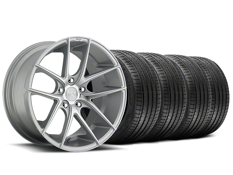 Niche Targa Matte Silver Wheel & Sumitomo Tire Kit - 20x8.5 (15-19 All)