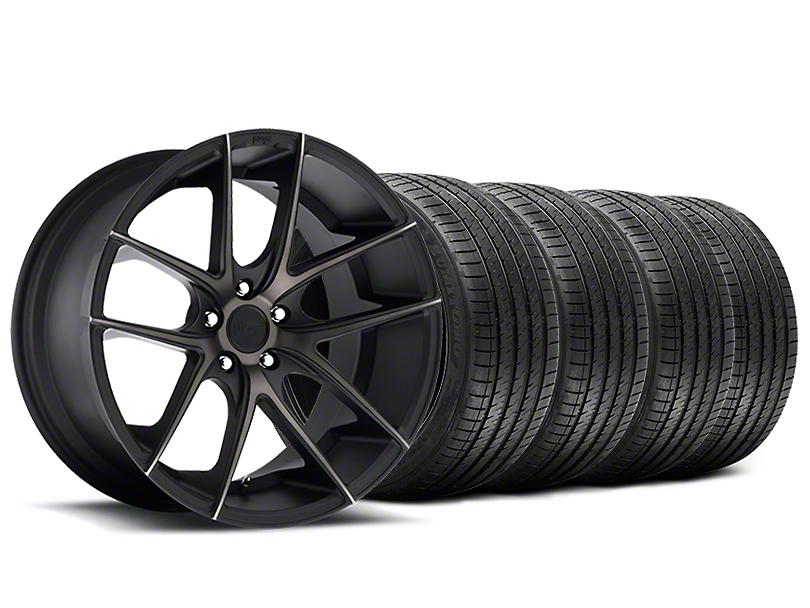 Niche Targa Black Wheel & Sumitomo Tire Kit - 20x8.5 (15-18 All)