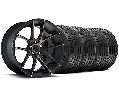 Niche Targa Black Wheel & Sumitomo Tire Kit - 20x8.5 (15-18 All)