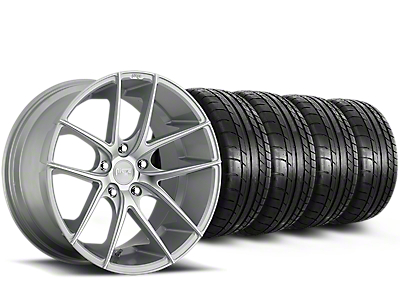 Niche Targa Matte Silver Wheel & Mickey Thompson Tire Kit - 20x8.5 (15-18 All)