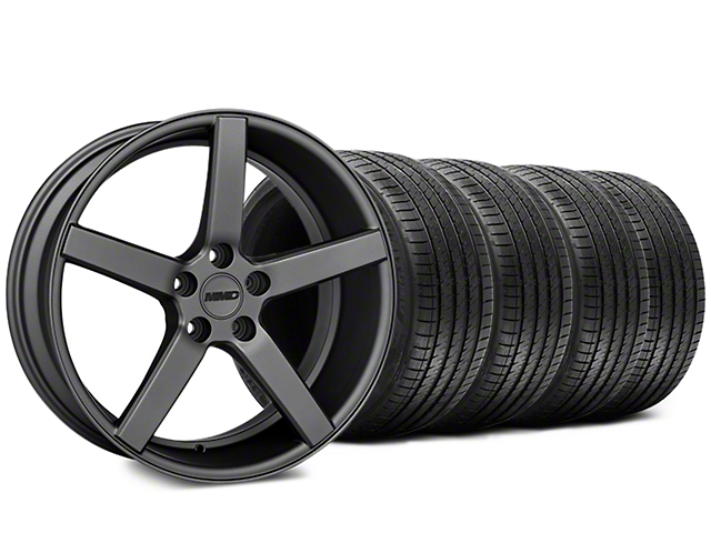 MMD 551C Charcoal Wheel & Sumitomo Tire Kit - 20x8.5 (15-19 GT, EcoBoost, V6)