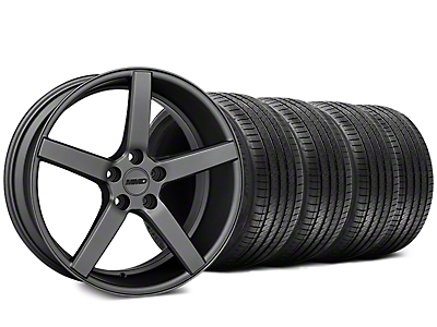 MMD 551C Charcoal Wheel & Sumitomo Tire Kit - 20x8.5 (15-18 GT, EcoBoost, V6)