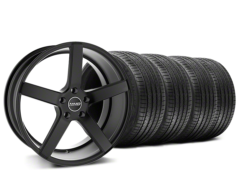 MMD 551C Black Wheel & Sumitomo Tire Kit - 20x8.5 (15-18 GT, EcoBoost, V6)