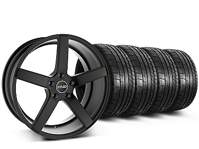 MMD 551C Black Wheel & Mickey Thompson Tire Kit - 20x8.5 (15-17 GT, EcoBoost, V6)