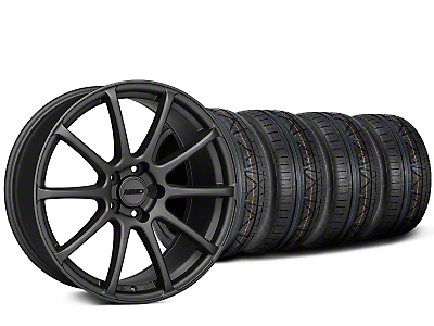 MMD Axim Charcoal Wheel & NITTO INVO Tire Kit - 20x8.5 (15-17 All)