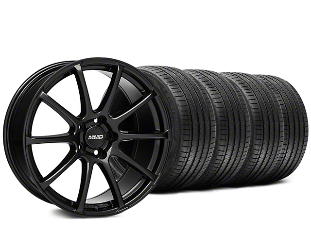 MMD Axim Gloss Black Wheel & Sumitomo Tire Kit - 20x8.5 (15-18 All)