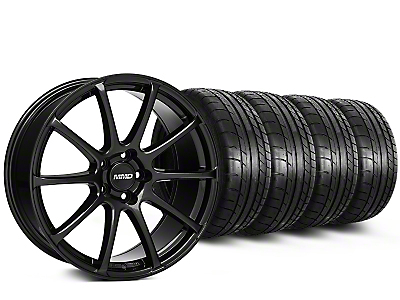 MMD Axim Gloss Black Wheel & Mickey Thompson Tire Kit - 20x8.5 (15-18 All)