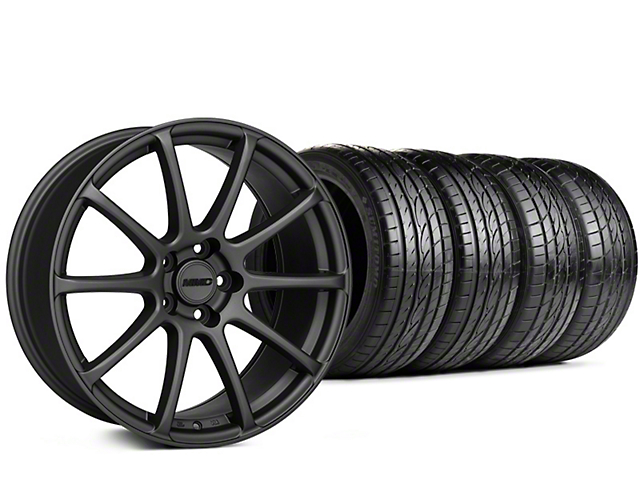 Staggered MMD Axim Charcoal Wheel & Sumitomo Tire Kit - 20x8.5/10 (15-17 All)