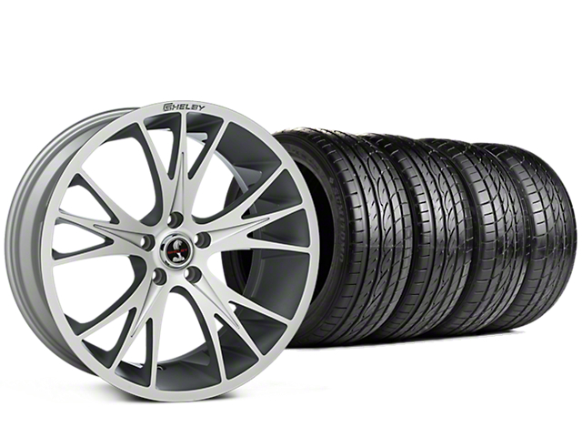 Shelby CS1 Hyper Silver Wheel & Sumitomo Tire Kit - 20x9 (15-17 All)