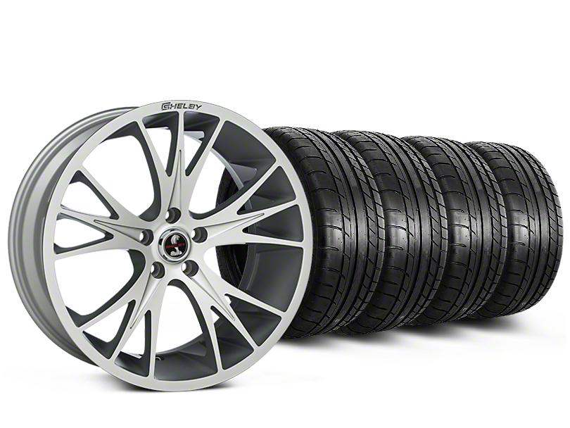 Shelby CS1 Hyper Silver Wheel & Mickey Thompson Tire Kit - 20x9 (15-17 All)
