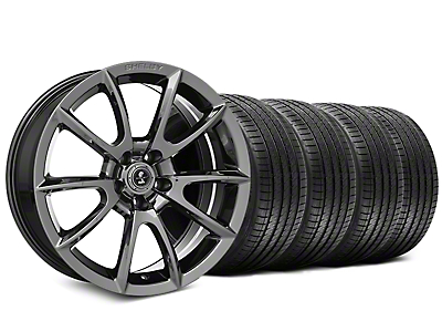 Staggered Shelby Super Snake Style Chrome Wheel & Sumitomo Tire Kit - 20x9/10 (15-17 All)