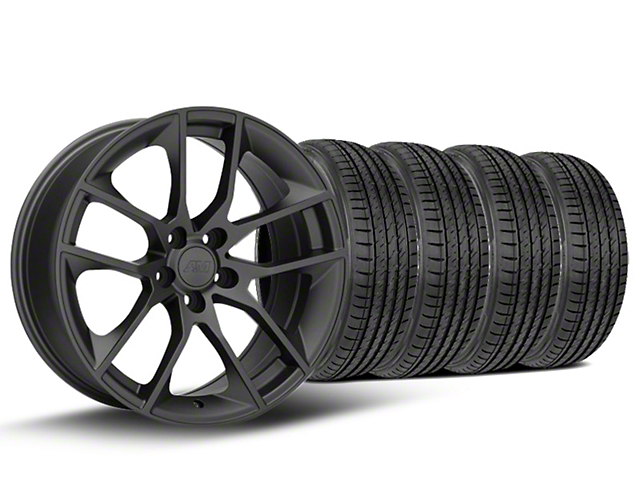 Magnetic Style Charcoal Wheel & Sumitomo Tire Kit - 19x8.5 (15-19 GT, EcoBoost, V6)