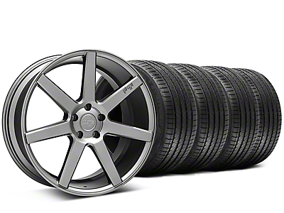 Staggered Niche Verona Anthracite Wheel & Sumitomo Tire Kit - 20x9/10 (15-18 All)