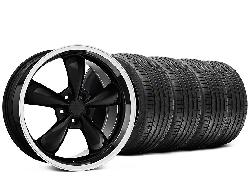 Bullitt Black Wheel & Sumitomo Tire Kit - 20x8.5 (15-18 EcoBoost, V6)