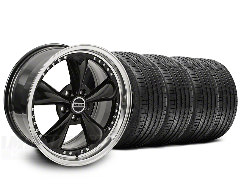 Bullitt Motorsport Black Wheel & Sumitomo Tire Kit - 20x8.5 (15-19 EcoBoost, V6)