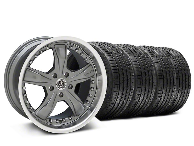 Staggered Shelby Razor Gunmetal Wheel & Sumitomo Tire Kit - 20x9/10 (15-18 All)
