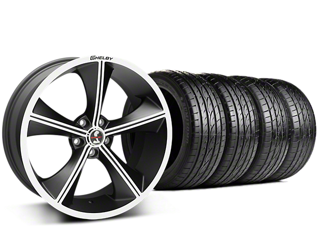 Shelby CS70 Matte Black Wheel & Sumitomo Tire Kit - 20x9 (15-17 GT, V6, and EcoBoost)
