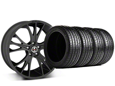 Shelby CS1 Matte Black Wheel & Sumitomo Tire Kit - 20x9 (15-17 GT, V6, and EcoBoost)