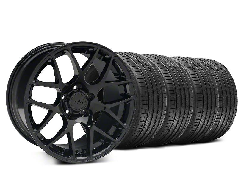 AMR Black Wheel & Sumitomo Tire Kit - 20x8.5 (15-18 All)