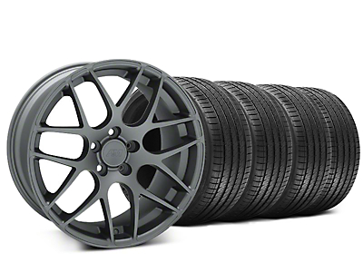 AMR Charcoal Wheel & Sumitomo Tire Kit - 20x8.5 (15-18 All)