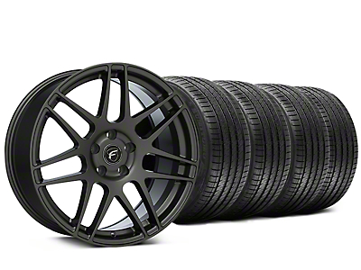 Forgestar F14 Monoblock Gunmetal Wheel & Sumitomo Tire Kit - 20x9 (15-18 All)