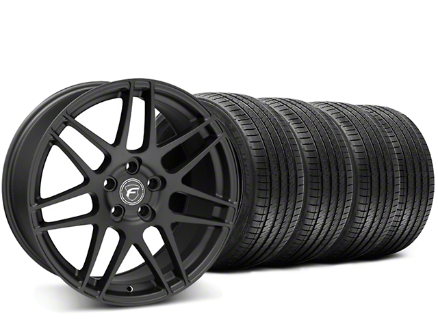 Forgestar F14 Monoblock Matte Black Wheel & Sumitomo Tire Kit - 20x9 (15-17 All)