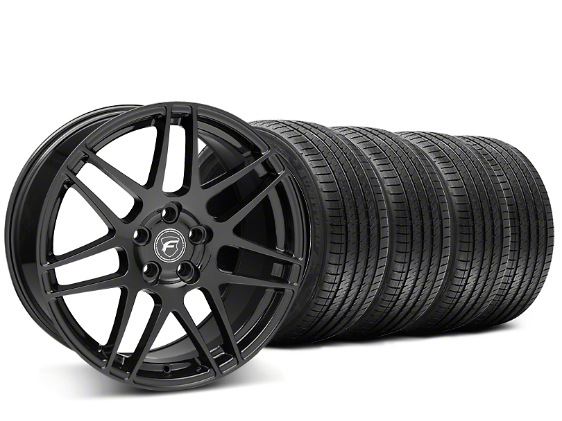 Forgestar F14 Monoblock Piano Black Wheel & Sumitomo Tire Kit - 20x9 (15-17 All)