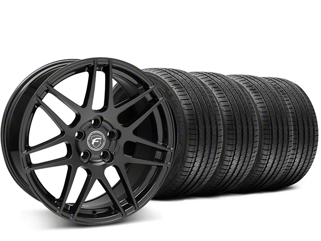 Forgestar F14 Monoblock Piano Black Wheel & Sumitomo Tire Kit - 20x9 (15-18 All)