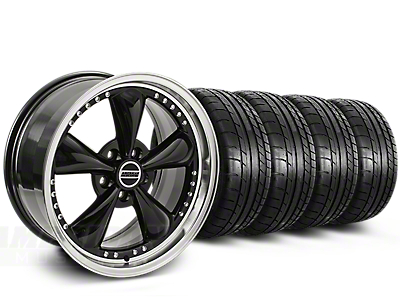 Bullitt Motorsport Black Wheel & Mickey Thompson Tire Kit - 20x8.5 (15-18 EcoBoost, V6)