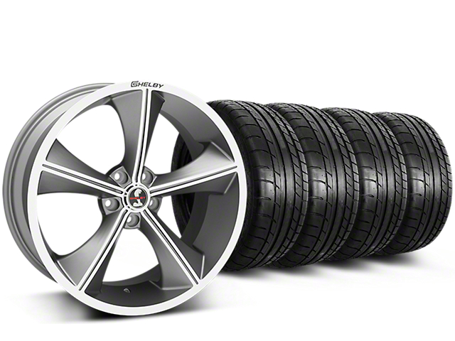 Shelby CS70 Gunmetal Wheel & Mickey Thompson Tire Kit - 20x9 (15-17 All)